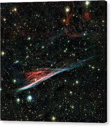 Pencil Nebula Canvas Print by European Southern Observatory