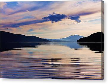 Pend Oreille Peace Canvas Print by Benjamin Yeager