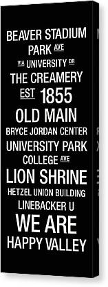 Penn State College Town Wall Art Canvas Print by Replay Photos