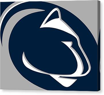 Penn State Nittany Lions Canvas Print by Tony Rubino