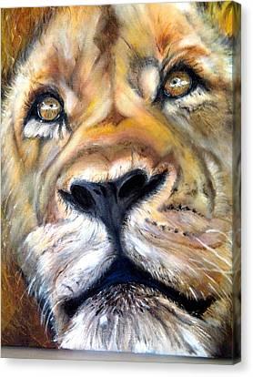 Pensive Canvas Print by Harlene Bernstein