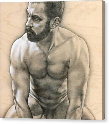 Penumbra 3 Canvas Print by Chris  Lopez