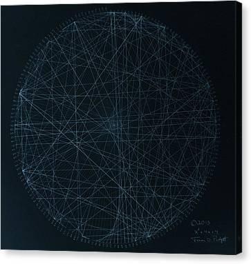 Perfect Square Canvas Print by Jason Padgett