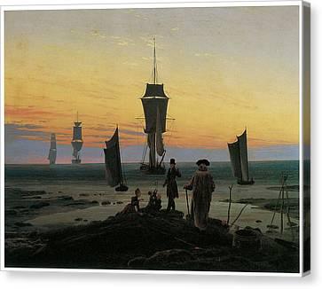 Periods Of Life Canvas Print by Caspar David Friedrich