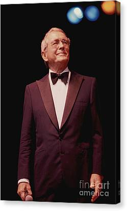 Perry Como Canvas Print by Front Row  Photographs