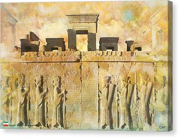 Persepolis  Canvas Print by Catf