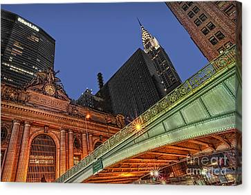 Pershing Square Canvas Print by Susan Candelario