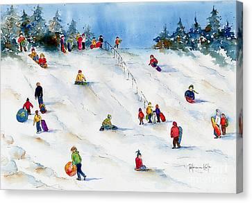 Pest Hill Canvas Print by Pat Katz