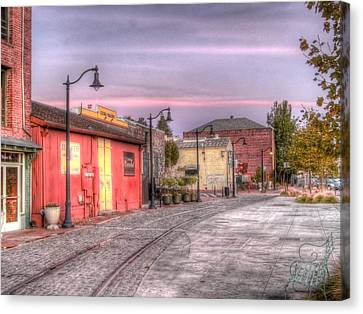 Petaluma Morning Canvas Print by Bill Gallagher