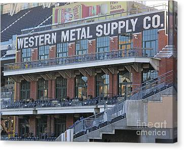Petco Canvas Print by Chris Selby