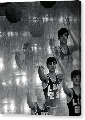 Pete Maravich Kaleidoscope Canvas Print by Retro Images Archive