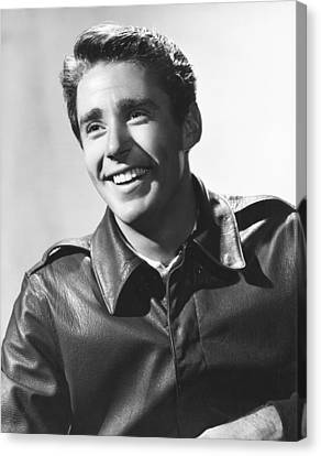 Peter Lawford, Mgm Portrait By Clarence Canvas Print by Everett