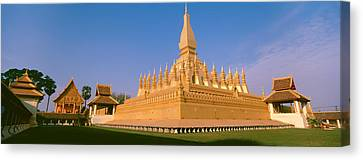Pha That Luang Temple, Vientiane, Laos Canvas Print by Panoramic Images
