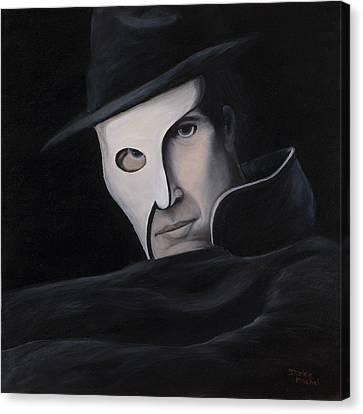 Phantom Canvas Print by Darice Machel McGuire