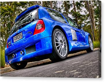 Phase 2 Clio V6 Canvas Print by motography aka Phil Clark