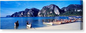 Phi Phi Islands Thailand Canvas Print by Panoramic Images