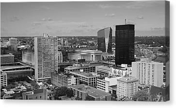 Philadelphia - A View Across The Schuylkill River Canvas Print by Rona Black