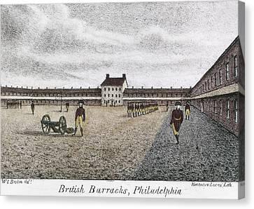 Philadelphia: Barracks Canvas Print by Granger