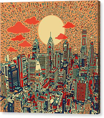 Philadelphia Dream Canvas Print by Bekim Art