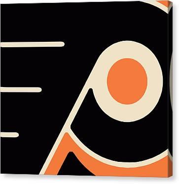 Philadelphia Flyers Canvas Print by Tony Rubino
