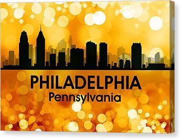 Philadelphia Pa 3 Canvas Print by Angelina Vick