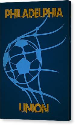 Philadelphia Union Goal Canvas Print by Joe Hamilton