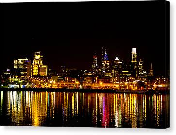 Philly Nights Canvas Print by Bill Cannon