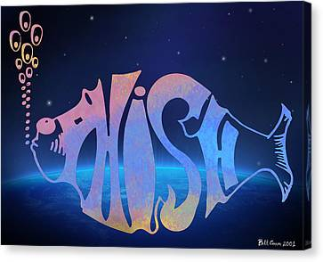 Phish Canvas Print by Bill Cannon