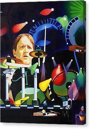 Phish Full Band Fishman Canvas Print by Joshua Morton