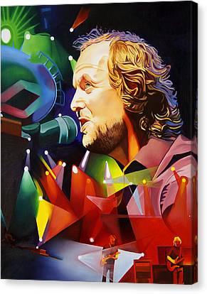 Phish Full Band Mcconnell Canvas Print by Joshua Morton