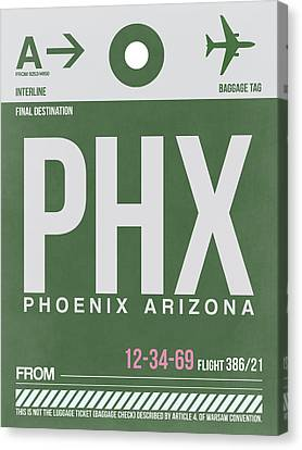 Phoenix Airport Poster 2 Canvas Print by Naxart Studio