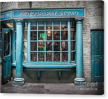 Photo Studio Canvas Print by Perry Webster