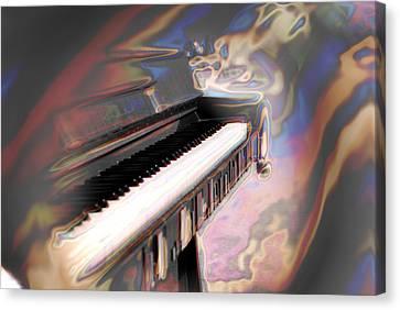 Phsyco Keys Canvas Print by Frederico Borges
