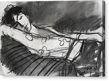 Pia #5 - Figure Series Canvas Print by Mona Edulesco