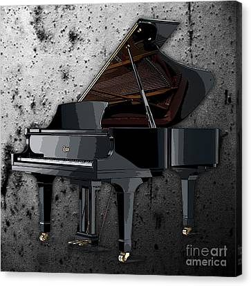 Piano Canvas Print by Marvin Blaine