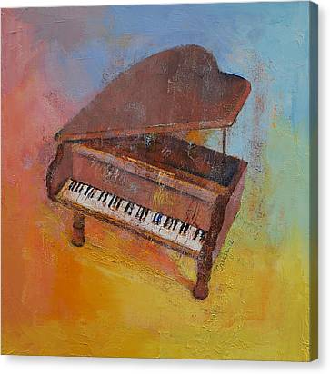 Toy Piano Canvas Print by Michael Creese