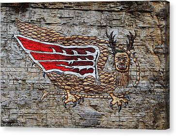Piasa Bird Canvas Print by John Freidenberg
