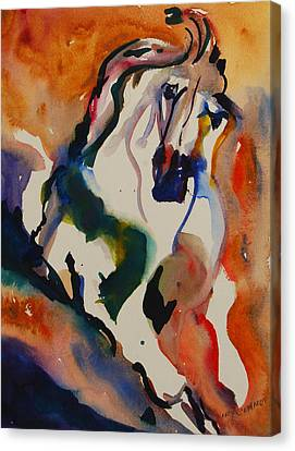 Picasso Canvas Print by Nancy Gebhardt