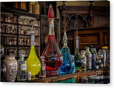 Pick An Elixir Canvas Print by Adrian Evans