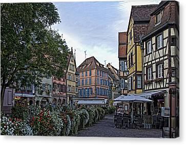 pictorial Colmar Canvas Print by Joachim G Pinkawa