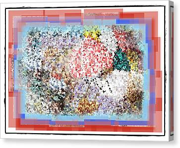 Pieces Of April Canvas Print by Bill Cannon