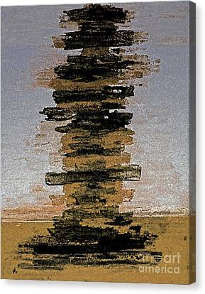 Pile Of Books Canvas Print by Christiane Schulze Art And Photography