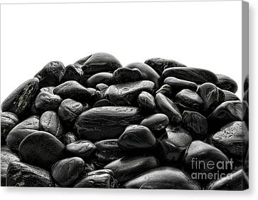 Pile Of Stones Canvas Print by Olivier Le Queinec