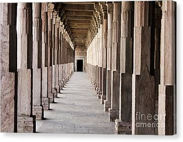 Pillar Hall In The City Of Joy Canvas Print by Four Hands Art