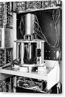 Pilot Ace Computer Components, 1954 Canvas Print by Science Photo Library
