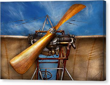 Pilot - Prop - They Don't Build Them Like This Anymore Canvas Print by Mike Savad