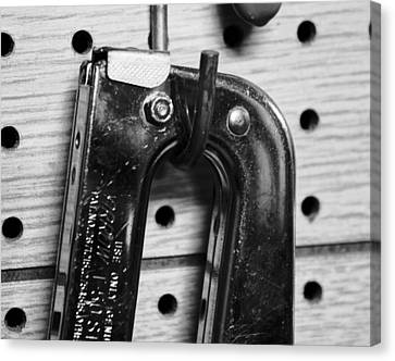 Ping Tool Canvas Print by Anthony Cummigs