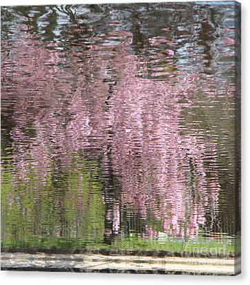 Pink Breeze Canvas Print by Karin Ubeleis-Jones