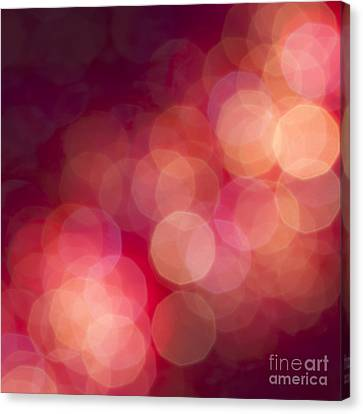 Pink Champagne Canvas Print by Jan Bickerton
