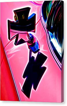 Pink Custom Mirrors Canvas Print by Phil 'motography' Clark